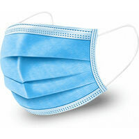 CARELIKA disposable face mask, protection class: FFP3, white/blue